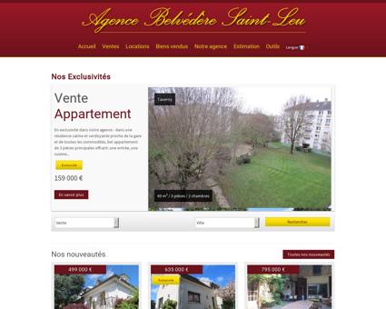 Tout l'immobilier à Saint Leu la Foret avec LE...