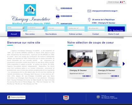 Chevigny Immobilier Chevigny-Saint-Sauveur...
