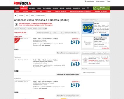 Vente maison à Ferrières (65560) : annonces...