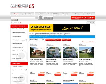 Le 65 # Annonces gratuites # Tarbes & Hautes...