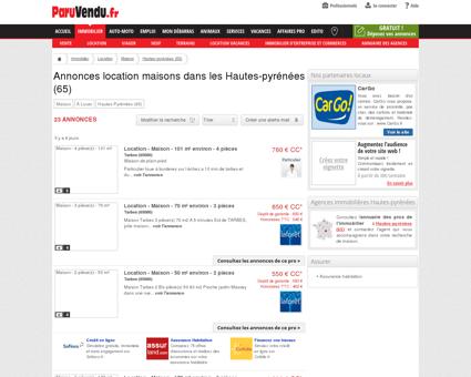 Location maison Hautes-pyrénées (65) :...