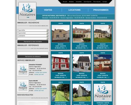 Immobilier - Notaires et Immobilier à SAINT...