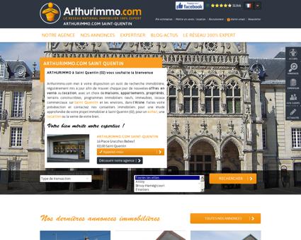Expert Immobilier Arthurimmo.com : Saint...