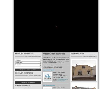 Notaires et Immobilier à SAINT-QUENTIN -...