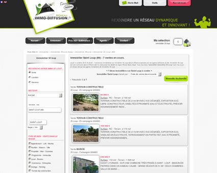 Immobilier Saint Loup : Immo Diffusion...