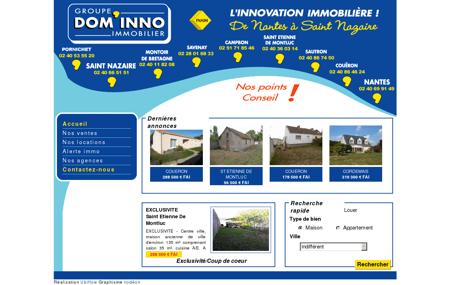 Dom Inno Immobilier - Agence immobilière à...