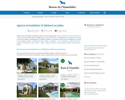 Agence immobilière St Médard en Jalles -...
