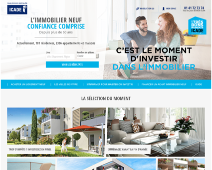 Icade Immobilier Neuf : programmes...