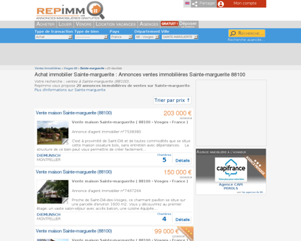Achat immobilier Sainte-marguerite :...