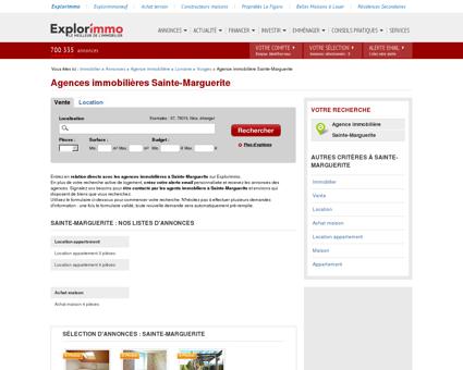 Agence immobilière Sainte-Marguerite -...