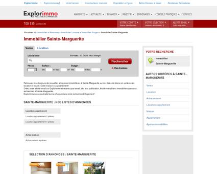 Immobilier Sainte-Marguerite : annonces...