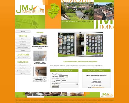 Agence immobilière JMJ Immobilier à Parthenay.