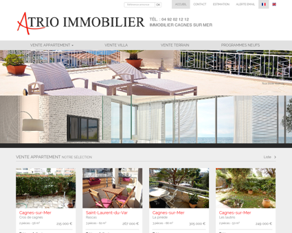 Immobilier Cagnes-sur-Mer, Agence...