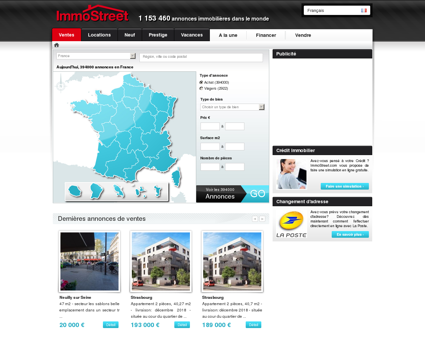 ImmoStreet - Immobilier à l'international