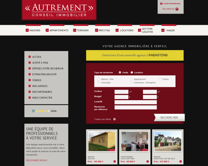 Immobilier (achat, vente et location) sur Verfeil,...