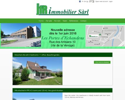 JFR Immobilier Sàrl | www.jfr.ch