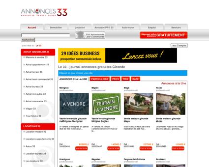 Le 33 # Annonces gratuites # Bordeaux &...