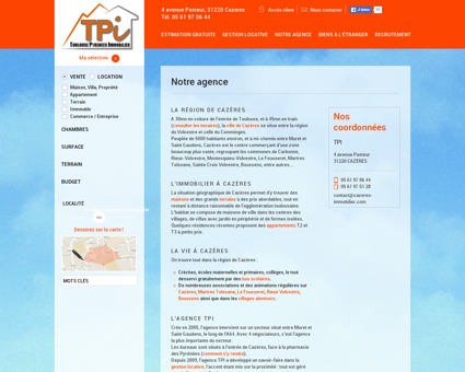 Agence | TOULOUSE PYRENEES IMMOBILIER