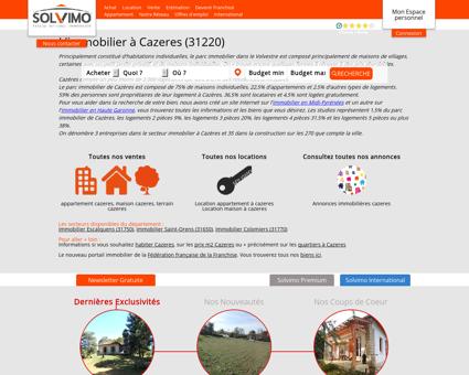 Immobilier Cazeres Solvimo