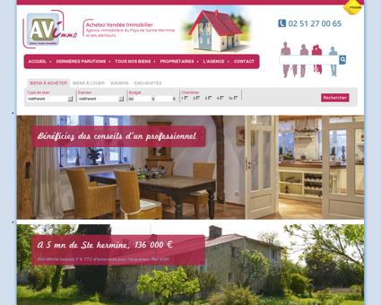 Achetez Vendée Immobilier : Agence...