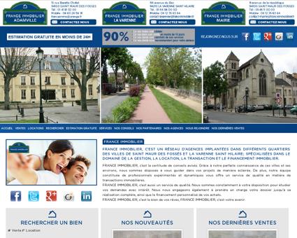 France Immobilier - Agence immobilière à...