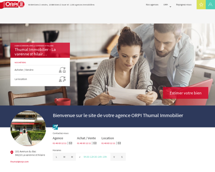 ORPI Thumal Immobilier - Immobilier,...