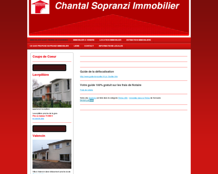 Chantal Sopranzi Immobilier - Saint-Pierre-de...