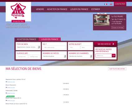 immobilier Feurs, Boen, St Germain Laval,...
