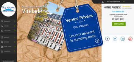 Guy Hoquet l'Immobilier Virelade - Agence...