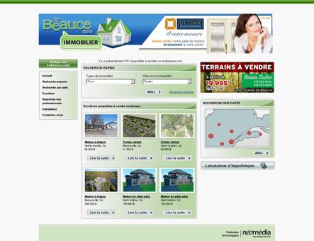 Immobilier Beauce, maison à vendre, condo,...