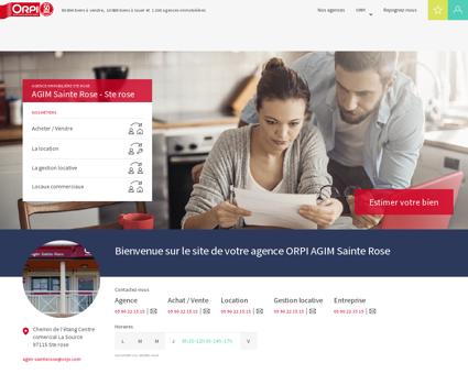 ORPI AGIM Sainte Rose - Immobilier, agences...
