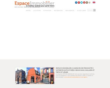 Espace Immobilier Bouchain, votre agence,...