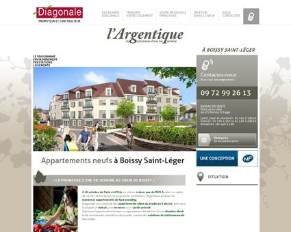 À Boissy Saint-Léger - Diagonale - Promoteur...