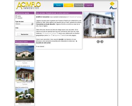 Acimflo Immobilier - Agence immobilière à...