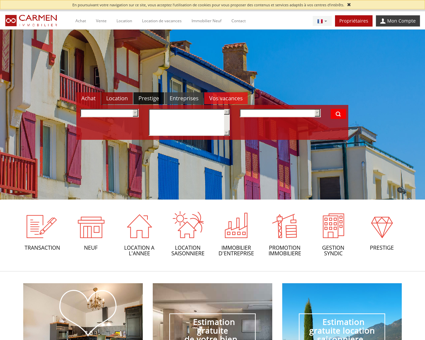 Carmen Immobilier Pays Basque : immobilier...