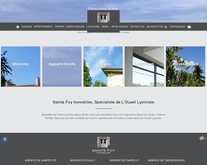 Agence immobilière Sainte-Foy - vente de...