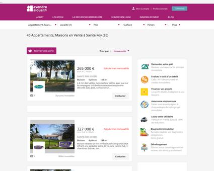 Immobilier A Sainte Foy | avendrealouer.fr