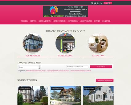 Immobilier Conches en Ouche | Sainte Foy...