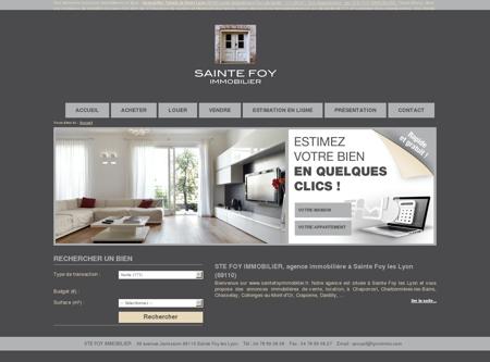 Tout l'immobilier à Sainte Foy les Lyon avec...