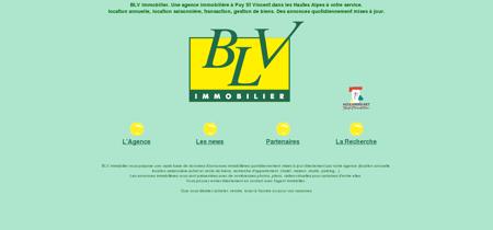 Agence immobilière BLV Immobilier à la...