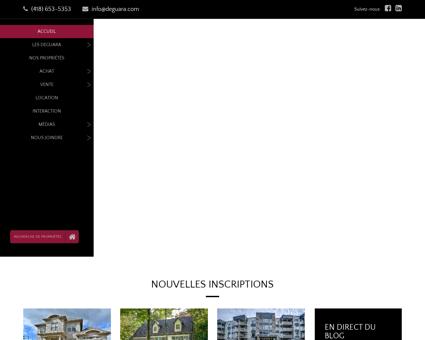 Courtiers immobilier à Québec - Équipe Deguara
