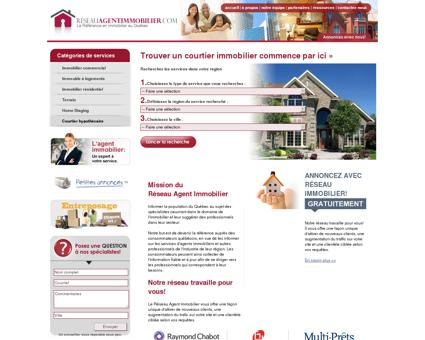 Agents Immobiliers | Réseau Agent Immobilier