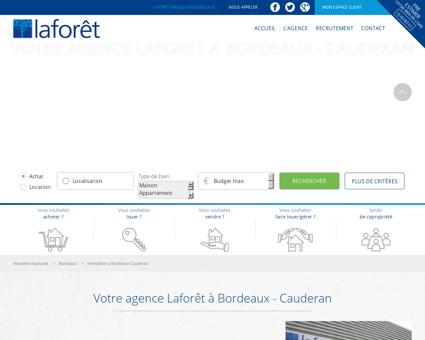 Immobilier Bordeaux Cauderan - Agence...