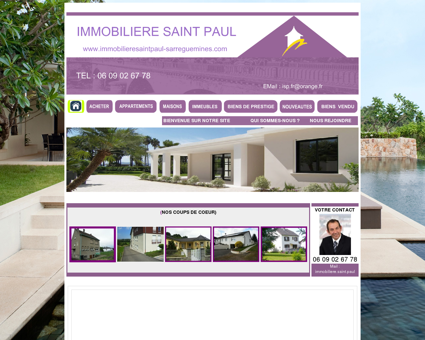 AGENCE IMMOBILIERE SAINT PAUL...