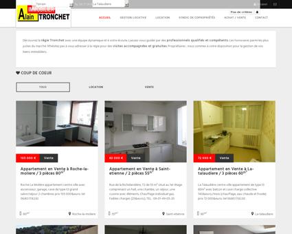 Tronchet Immobilier Saint Just Saint Rambert ...