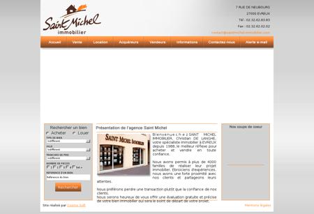 Saint Michel Immobilier, agence immobilière...