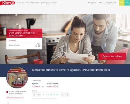 Agence immobilière Saint gratien : ORPI...