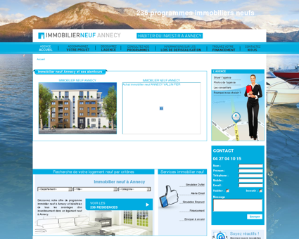 Achat immobilier neuf Annecy  Immobiliers...
