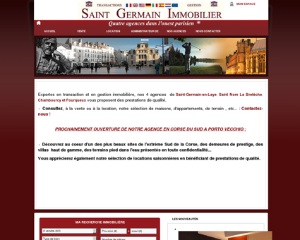 immobilier Saint Germain en laye,...