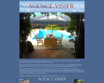 Agence Visser - Immobilier : Le Fousseret,...